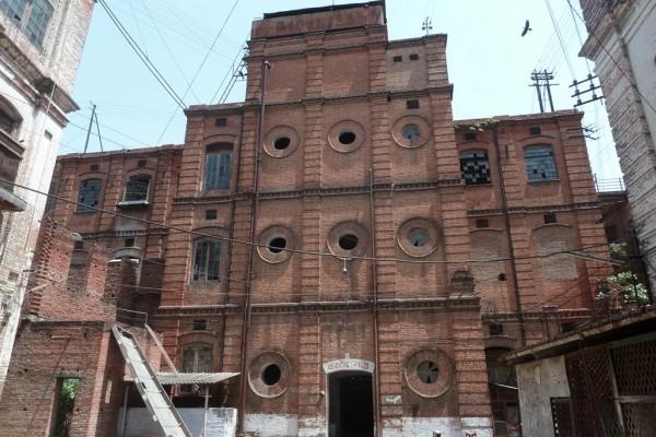 La Cawnpore Woollen Mills à Kanpur dans l'Uttar Pradesh au nord de l'Inde.