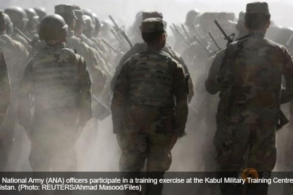"""La Chine souhaite assumer un rôle de plus en plus important dans la reconstruction de l'Etat afghan. Copie d'écran de """"Channel News Asia"""", le 21 avril 2016."""
