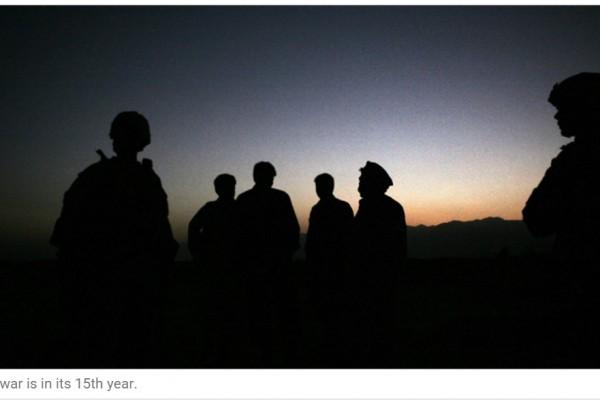"""Les Taliban ont annoncé aujourd'hui l'ouverture d'une série d'offensives. Copie d'écran de """"The Express Tribune"""", le 12 avril 2016."""