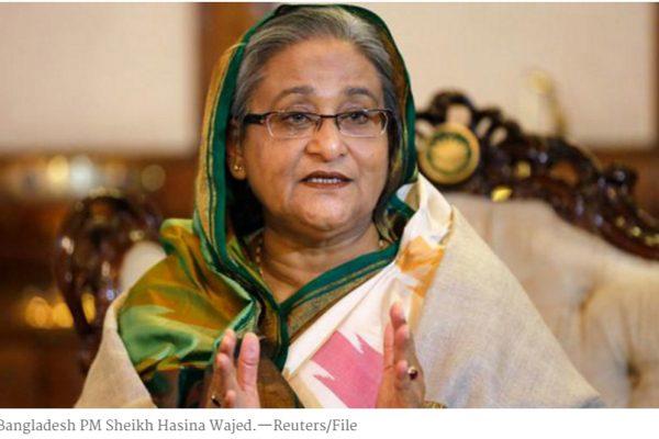 """Les assassinats répétés de défenseurs des droits de l'homme font-ils planer une menace sur la démocratie bangladaise ? Copie d'écran de """"Dawn"""", le 28 avril 2016."""