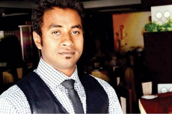 """Nazimuddin Samad, 28 ans, s'ajoute tristement à la liste des militants laïcs assassinés au Bangladesh. Copie d'écran du """"Dhaka Tribune"""", le 7 avril 2016."""