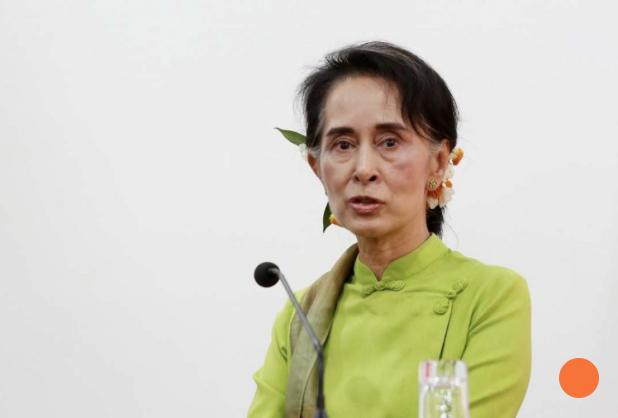 """La Commission des Etats-Unis sur la liberté religieuse a rappelé à l'ordre Aung San Suu Kyi et le nouveau gouvernement birman sur le sort des Rohingyas. Copie d'écran du """"South China Morning Post"""", le 15 avril 2016."""