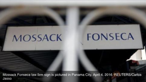 """Une société écran servant à financer le programme nucléaire de Pyongyang citée dans les """"Panama Papers"""". Copie d'écran de """"Channel News Asia"""", le 5 avril 2016."""