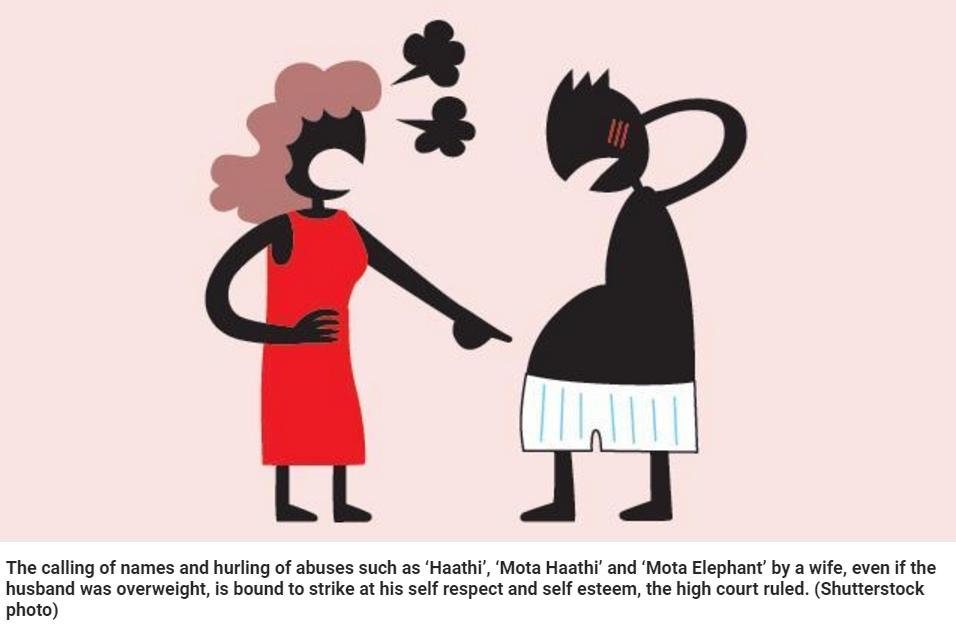 En Inde, on ne badine pas avec le surpoids. Copie d'écran du Hindustan Times, le 26 mars 2016.