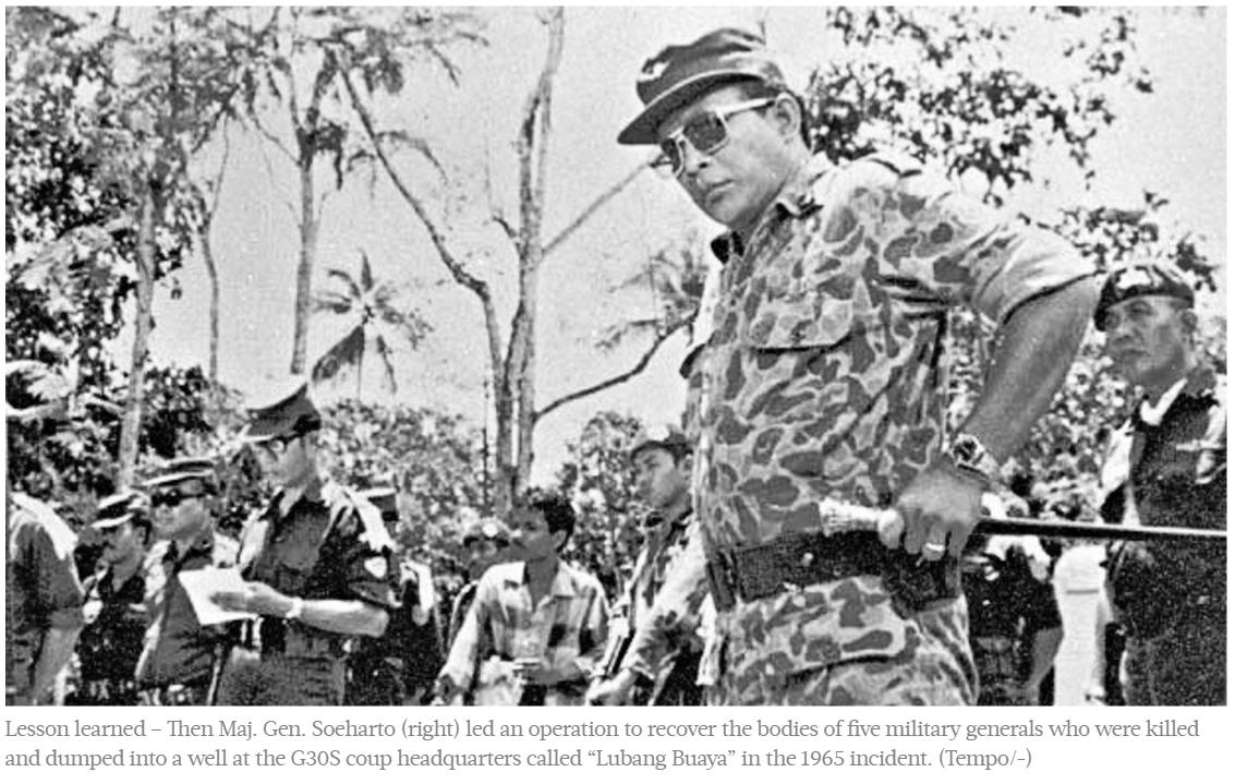 """L'Indonésie reviendra-t-elle sur la censure qui s'abat sur les massacres de 1965 dans l'archipel ? Copie d'écran du """"Jakarta Post"""", le 18 avril 2016."""