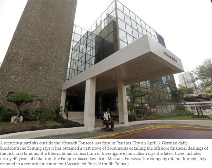 """Les autorités financières indonésiennes se serviront des """"Panama Papers"""" pour mettre en place un plan d'amnistie fiscale au moment ou le gouvernement cherche à booster la recette fiscale du pays. Copie d'écran de """"The Jakarta Post"""", le 6 avril 2016."""
