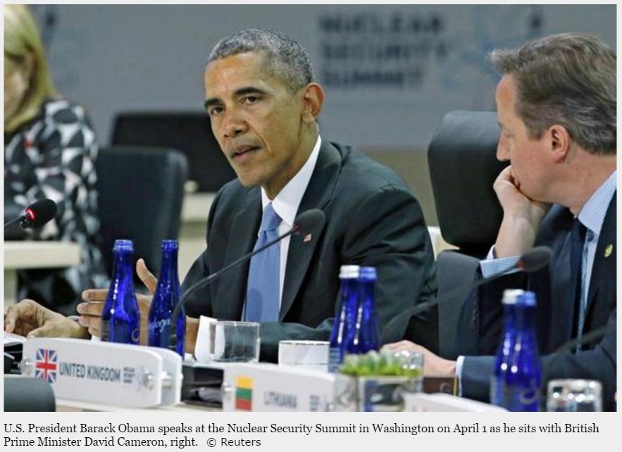 """Les rumeurs ont été confirmées : Barack Obama sera bien le premier président américain en exercice à se rendre à Hiroshima depuis 1945. Copie d'écran de """"Nikkei"""", le 22 avril 2016."""