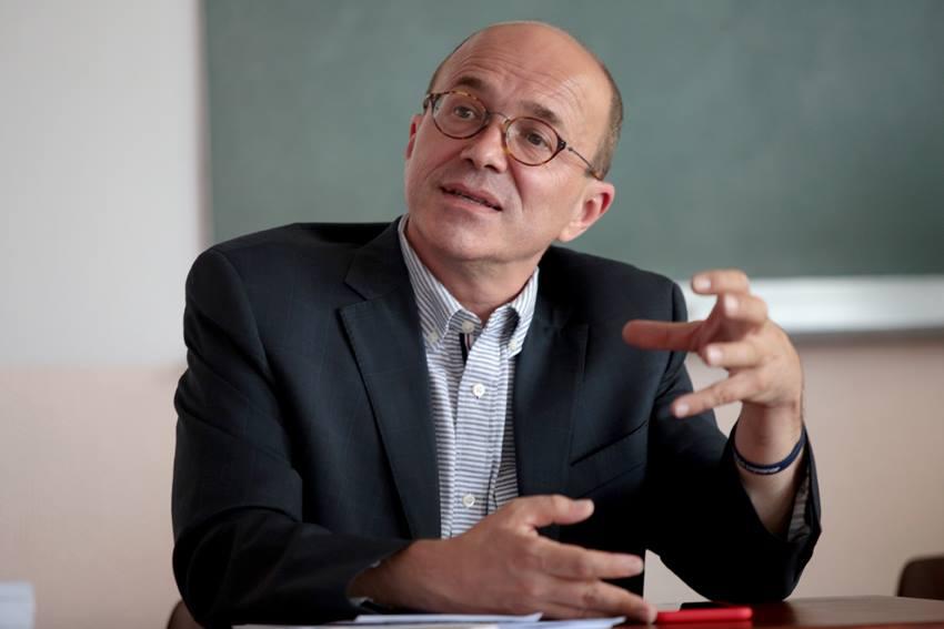André Gattolin, sénateur et député EELV des Hauts-de-Seine et membre du groupe d'information sur le Tibet au Sénat.