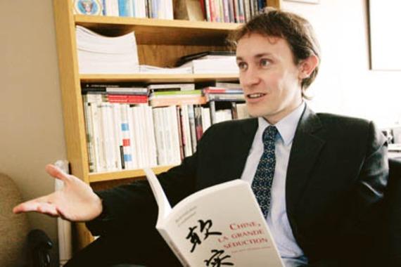 Barthélémy Courmont est directeur de recherches à l'IRIS. (Source : Les affaires)