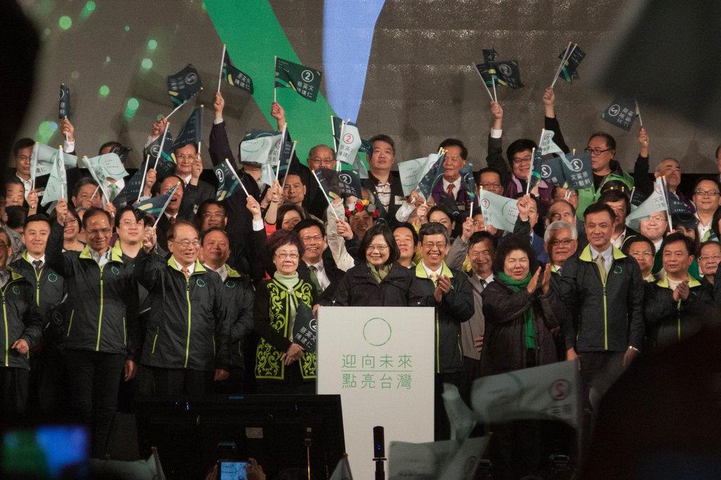Le leader du DPP, Tsai Ing-wen devient la nouvelle présidente de Taïwan à l'issu du scrutin présidentielle du 16 janvier 2016.