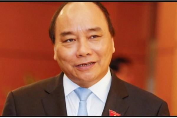 """Nguyen Xuan Phuc nommé Premier ministre par le Parlement vietnamien. Copie d'écran de """"Tuoi Tre News"""", le 7 avril 2016."""