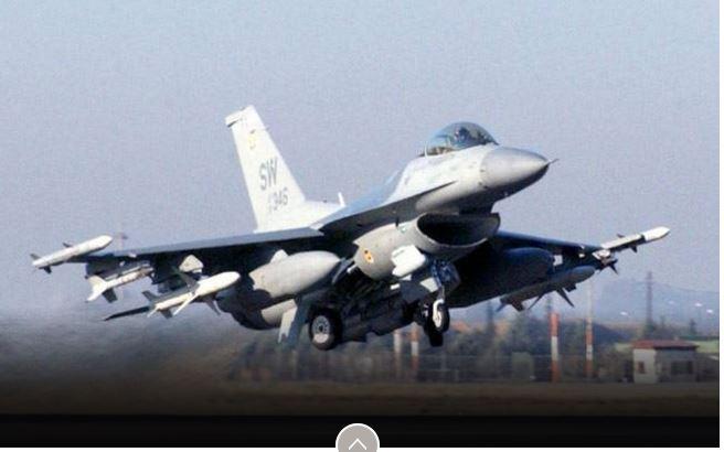 """Selon des parlementaires américains, le Pakistan pourrait utiliser les avions américains contre l'Inde. Copie d'écran de """"India Today"""", le 28 avril 2016."""