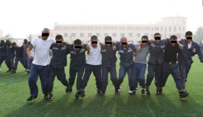 """Les prisonniers de la prison de Yancheng purgent leur peine dans les meilleures conditions. Copie d'écran du """"South China Morning Post"""" le 29 avril 2016."""