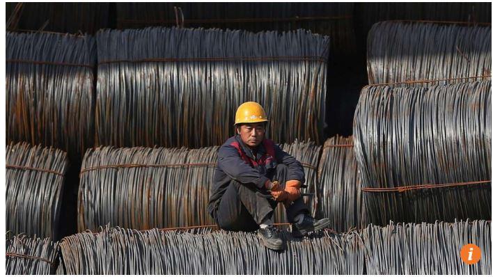 """En Chine, une source """"qui fait autorité"""" a informé le Quotidien du peuple que les dirigeants du Parti communiste souhaitent modifier la direction de la politique économique du pays. Copie d'écran du """"South China Morning Post"""", le 10 mai 2016."""