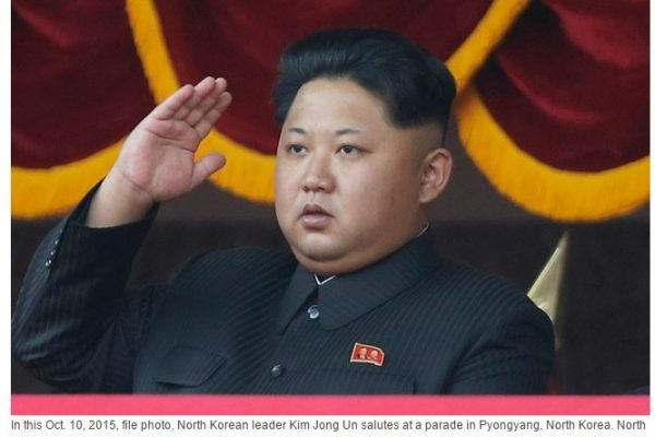"""Aujourd'hui s'est ouvert à Pyongyang le septième Congrès du Parti des travailleurs, il consacrera le pouvoir de Kim Jong-Un. Copie d'écran de """"Korea Herald"""", le 6 mai 2016."""