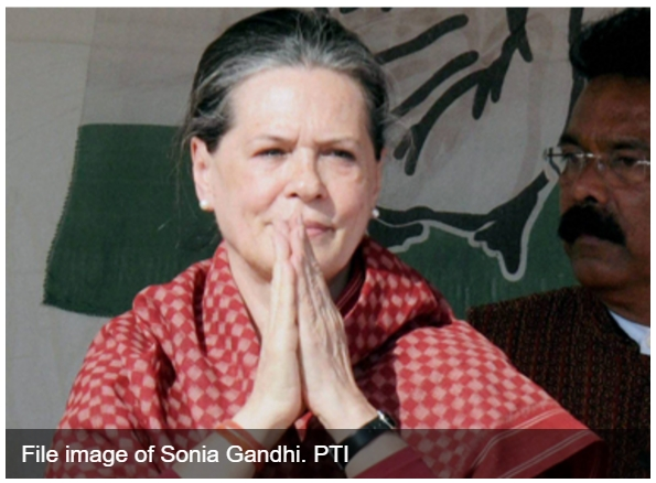 "Quelle comparaison entre les divers scandales de corruption impliquant Sonia Gandhi ? Copie d'écran de ""Firstpost"", le 2 mai 2016."