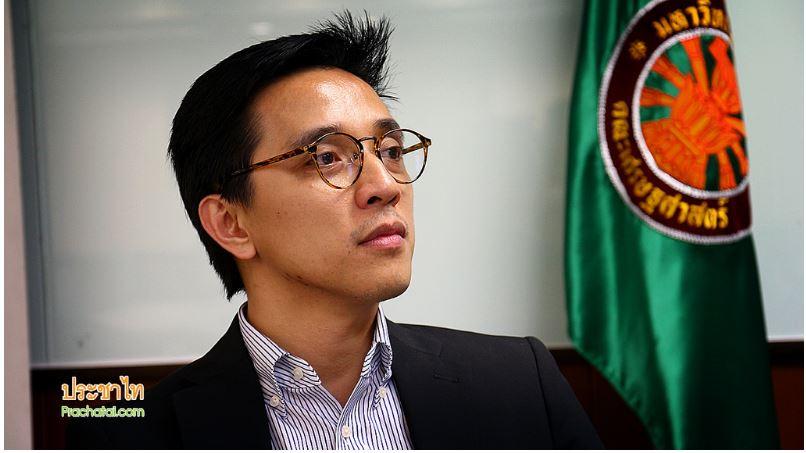 """Selon le chercheur en science politique Prajat Kongkirati, la junte cherche à affaiblir les responsables élus, à renforcer la bureaucratie et à amplifier les relations avec les capitalistes influents pour asseoir son pouvoir. Copie d'écran du site """"Prachatai"""", le 10 mai 2016."""