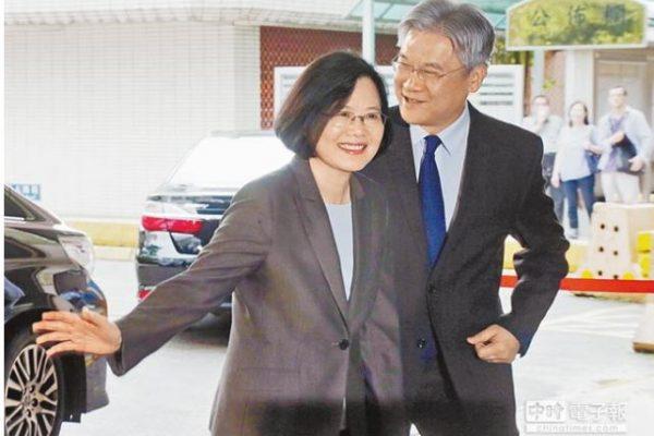 """Selon le représentant de Taïwan au Japon, Tsai Ing-wen ne reconnaitra pas le consensus de 1992. Copie d'écran du """"China Times"""", le 4 mai 2016."""