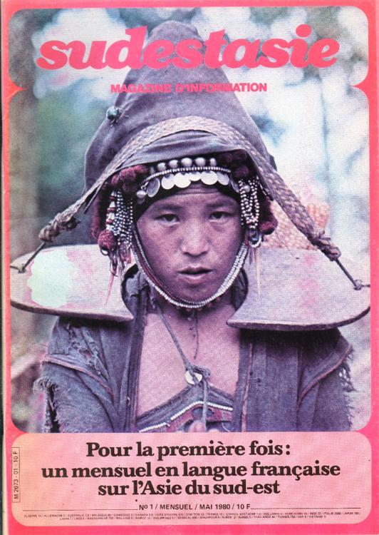 Couverture du magazine francophone Sudestasie, spécialisé sur l'Asie du Sud-Est.