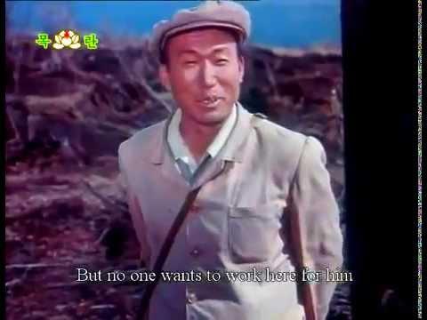 "Extrait du film nord-coréen ""A Forest is swaying"""