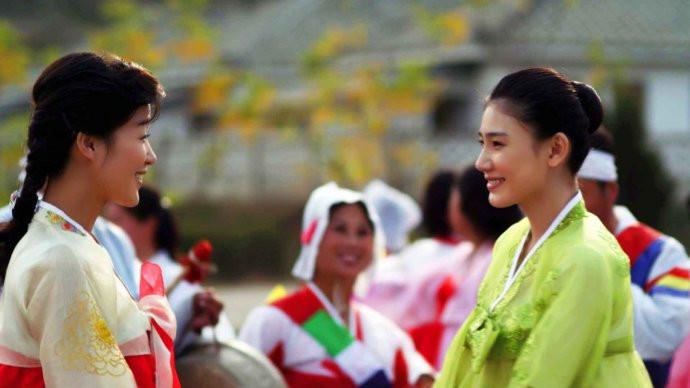 "Extrait du film nord-coréen ""Meet in Pyongyang"", de Kim Hyan-choi et Yahefu Xuerzhati en 2012."