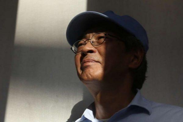 Le libraire Lam Wing-kee, détenu en Chine pendant 8 mois, continue de livrer sa version des faits. Copie d'écran du South China Morning Post, le 20 juin 2016.