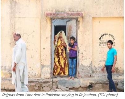 """Par ce geste, l'Inde se place comme le défenseur des Hindous dans la région. Copie d'écran du """"Times of India"""", le 3 juin 2016."""