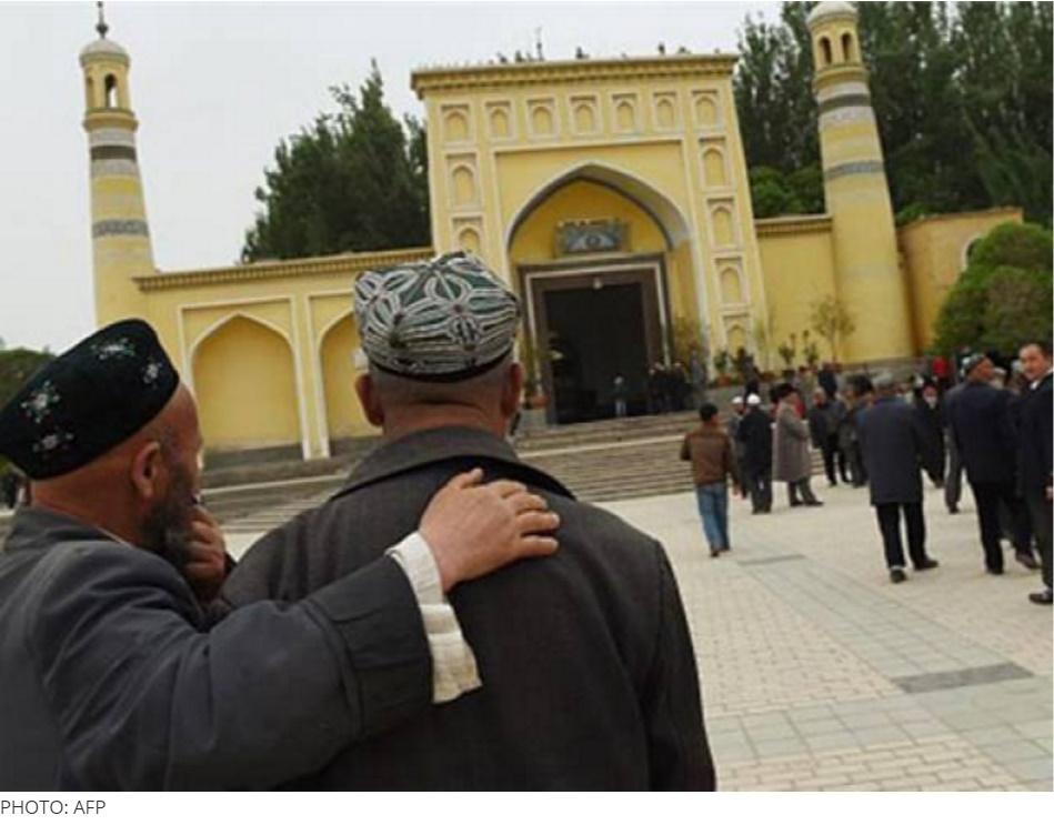 Une délégation pakistanaise officiellement invitée par Pékin a quitté Islamabad, mardi 28 juin. L'objectif : enquêter sur des accusations de répressions religieuses à l'encontre de la minorité musulmane ouighoure, relayée par les médias. Copie d'écran de The Express Tribune, le 29 juin 2016.