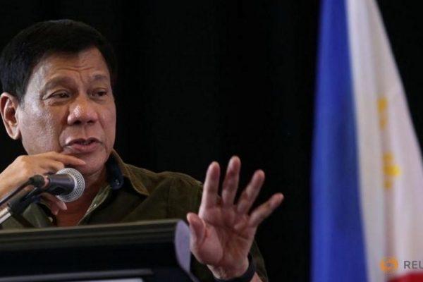 Le président entrant Rodrigo Duterte annonce un possible retour à la peine de mort dans un discours sur sa vision politique pour les Philippines. Copie d'écran de Channel News Asia, le 27 juin 2016.