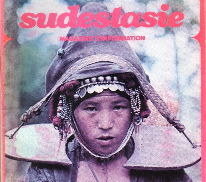 """Couverture du magazine francophone """"Sudestasie"""", spécialisé sur l'Asie du Sud-Est."""