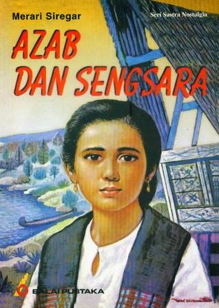 """""""Azab dan sengsara"""" (Tourments et souffrances) de Merari Sinegar (1896-1941) est considéré comme l'un des premiers livres publiés en bahasa Indonesia, dès 1920, aux éditions officielles gouvernementales, Balai Pustaka."""