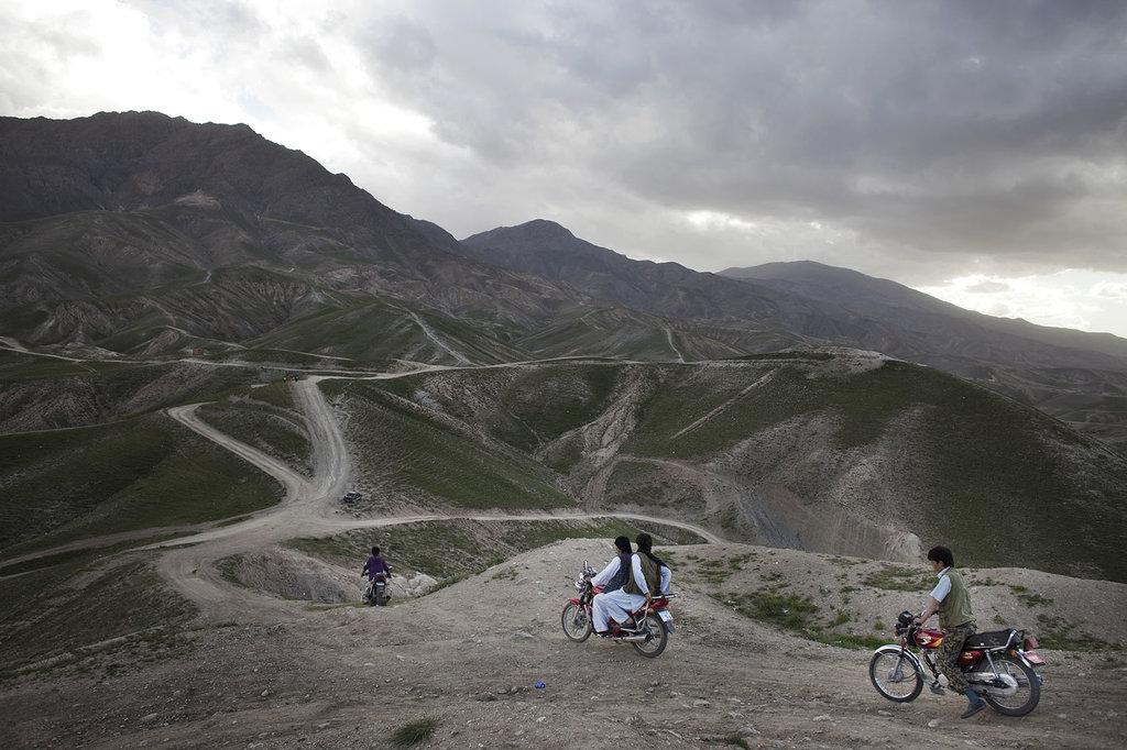 """Photo tirée de l'ouvrage de Sandra Calligaro """"Afghan Dream"""" paru aux éditions Pendant ce temps."""