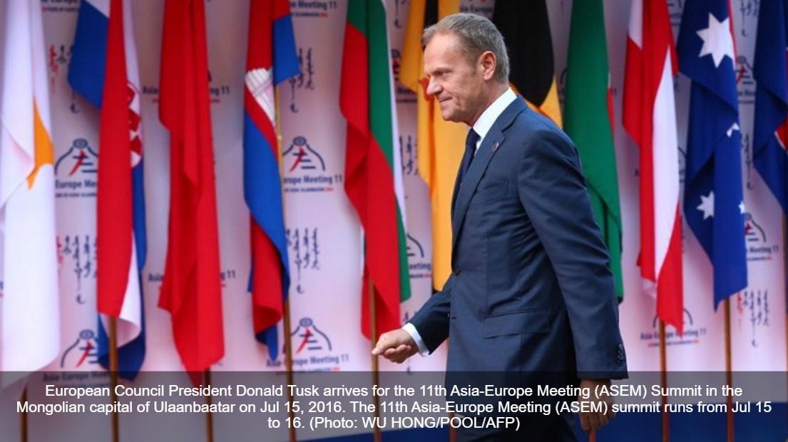 Après l'attentat de Nice, la coopération en matière de lutte antiterroriste prendra une place de choix dans les discussions du sommet Asie-Europe. Copie d'écran de Channel News Asia, le 15 juillet 2016.