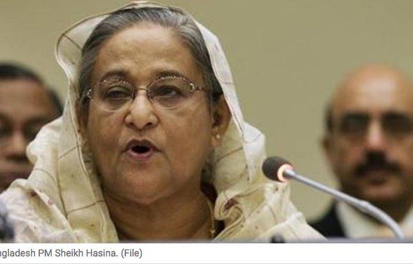 L'attentat de mercredi 6 juillet au Bangladesh viserait également à déstabiliser le gouvernement de Sheikh Hasina. Copie d'écran du Indian Express, le 8 juillet 2016.