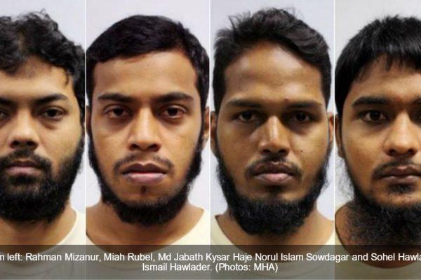 4 Bangladais ont été condamnés à Singapour à de la prison ferme pour avoir financé des attaques terroristes au Bangladesh. Copie d'écran de Channel News Asia, le 12 juillet 2016.