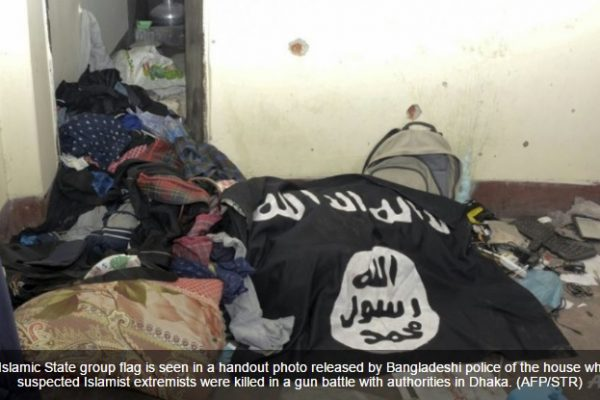 L'identité d'un des neuf terroristes tués lors du raid de mardi dernier a été confirmée, il s'agit d'un Américain. Copie d'écran de Channel News Asia, le 28 juillet 2016.