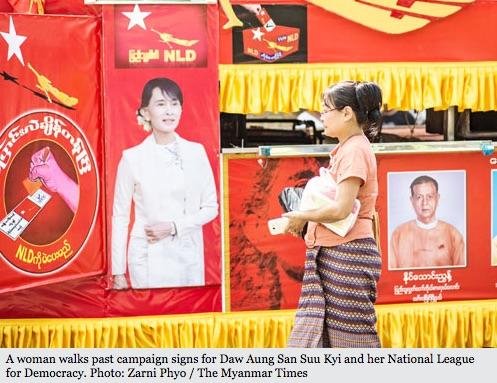 La Birmanie défend ses lois jugées discriminatoires envers les Rohingya et les femmes. Copie d'écran du Myanmar Times, le 6 juillet 2016.