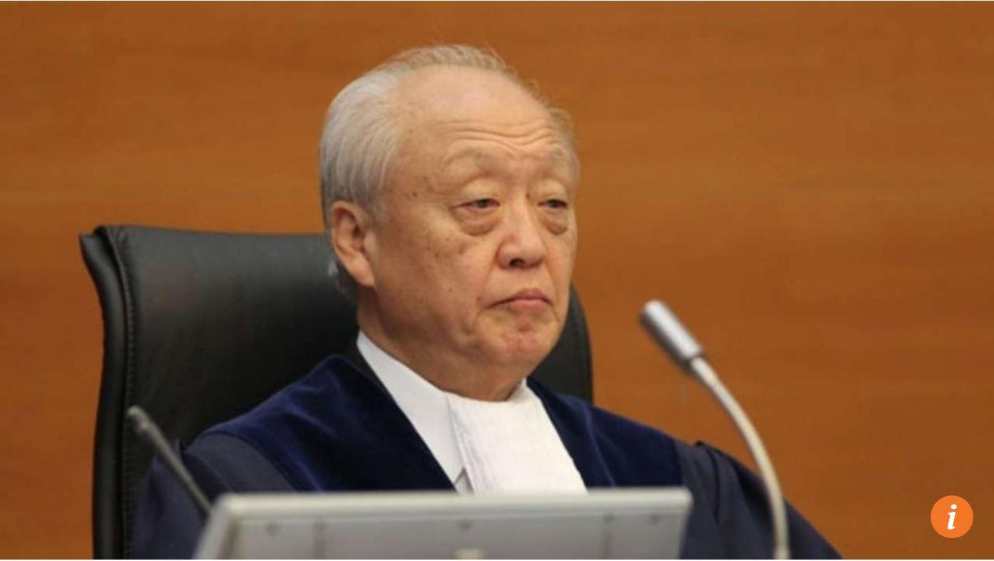 Le juge japonais chargé de l'arbitrage a fait partie des conseillers de Shinzo Abe pour la révision constitutionnelle. Copie d'écran du South China Morning Post, le 11 juillet 2016.