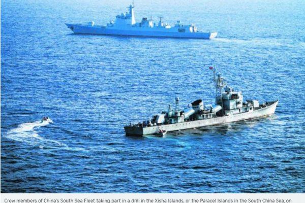 La Cour pénale internationale de la Haye a rendu son verdict aujourd'hui dans le litige qui oppose Pékin et Manille en mer de Chine méridionale. Sans surprise, le tribunal donne tort à Pékin. Copie d'écran du Straits Times, le 12 juillet 2016.