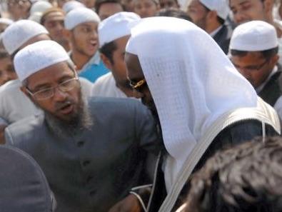 Zakir Naik nie avoir prêché en faveur de l'État islamique. Copie d'écran du Times of India, le 7 juillet 2016.