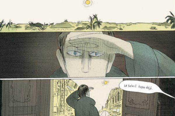 """Extrait de """"Nuages et pluie"""", scénario Loo Hui Phang, dessin Philippe Dupuy."""