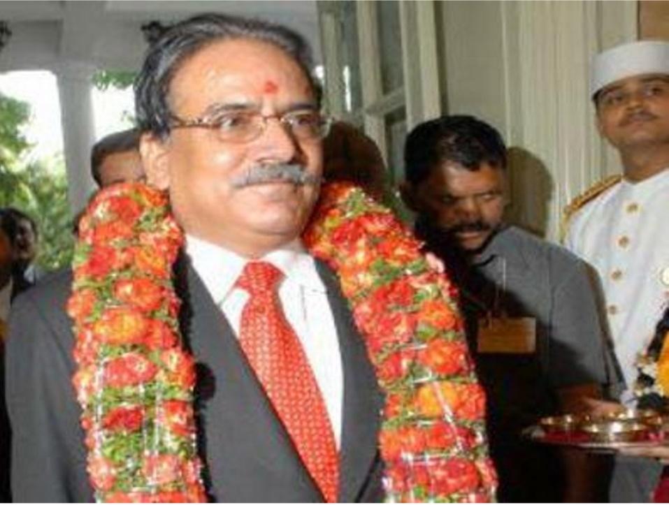 Le nouveau Premier ministre Pushpa Kamal Dahal devrait prendre ses fonctions la semaine prochaine. Dans une interview au Times of India, l'ancien révolutionnaire (1996-2006) et Premier ministre (2008-2009) a abordé sa future politique pour sortir le Népal de la crise. Copie d'écran du Times of India, le 27 juillet 2016