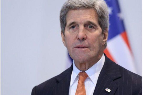 Le Secrétaire d'État amérciain John Kerry a annoncé le programme de sa visite en Asie du 25 au 27 juillet pour le forum régional de l'ASEAN. Copie d'écran du Inquirer, le 20 juillet 2016.