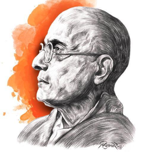 """Vinayak Damodar Savarkar, père de la doctrine fondatrice de l'Hindutva, """"l'hindouité""""."""
