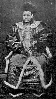 Tang Ching-sung (1841-1903), président de l'éphémère République de Formose.