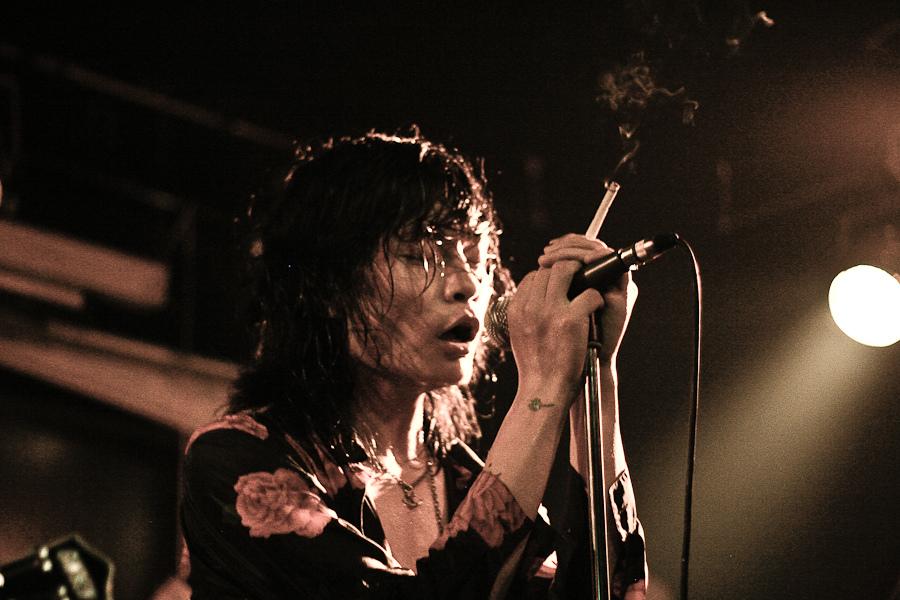 Photo du chanteur chinois de punk-rock Bian Yuan
