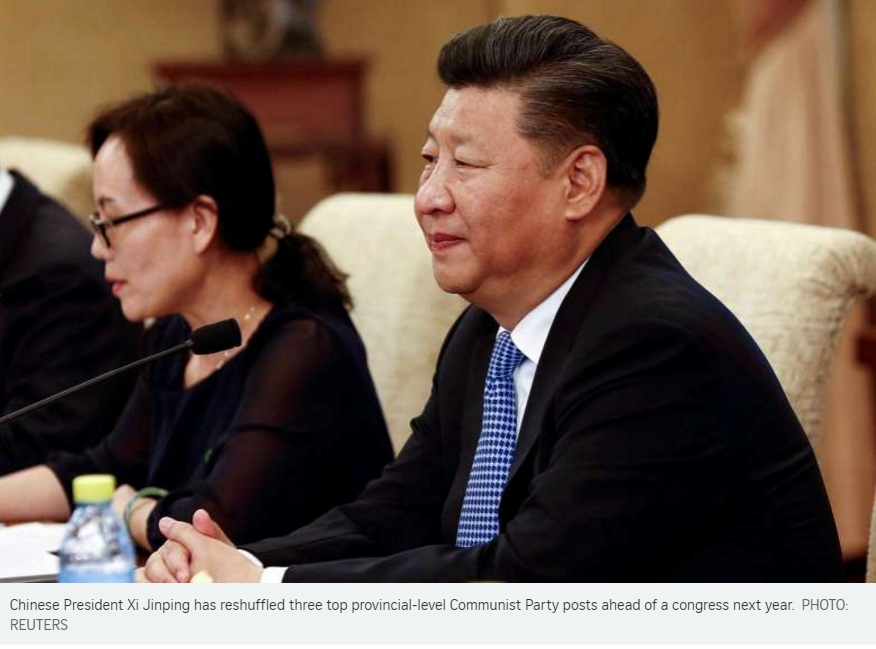 Photo du président chinois Xi Jinping
