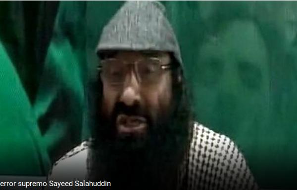 Le leader des Hizbul Mujahideen prédit une 4e guerre avec l'Inde si le Pakistan soutient l'autodétermination du Cachemire. Copie d'écran de India Today, le 8 août 2016.