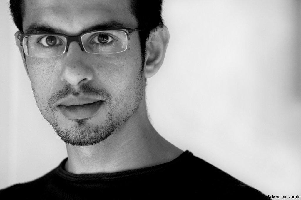 """L'écrivain indien Rana Dasgupta, auteur de """"Delhi Capitale""""."""