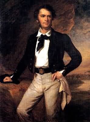 James Brooke en 1847.
